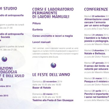 Programma culturale 2014-2015