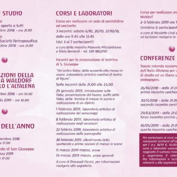 Programma culturale a.s. 2018/19
